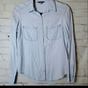 Rubbish from Nordstrom Soft Blue Chambray Shirt